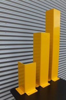 L-Profil   H = 800mm  gelb  RAL 1023