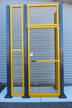 U-Profil S-Line   H = 400mm  gelb  RAL 1023