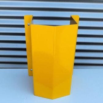 Rohrschutz L = 400 gelb RAL 1023
