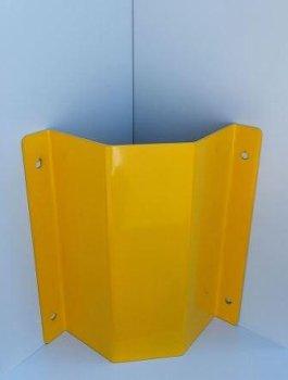 Rohrschutz Ecke L = 800 gelb RAL 1023