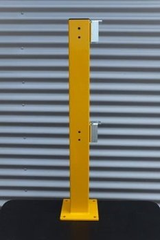 Geländer X-Line  Ständer 1000 mm   gelb  RAL 1003