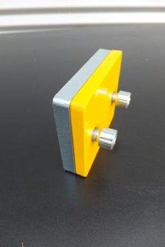 Verlängerungsplatte C-Profil | gelb RAL 1003