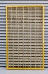 Gitter SG 1600 x 300 mm Sonderlack