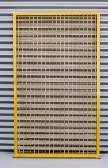 Gitter SG 1600 x 500 mm gelb RAL 1003